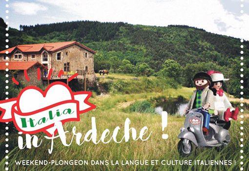 Italia in Ardeche du 29 au 31 mars et du 12 au 14 avril