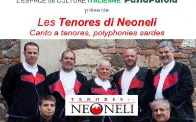 Polyphonies Sardes : Tenores de Neoneli