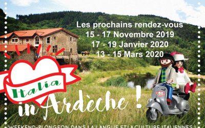 Italie en Ardèche: weekend plongeon dans la langue et la culture italiennes